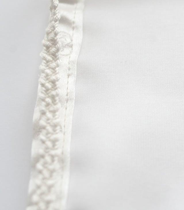 ますく あかちゃん-紐はシルクの編み紐